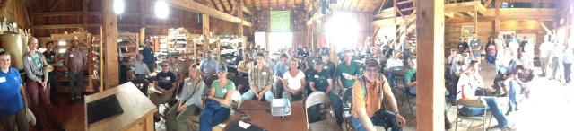 GRN talk in barn